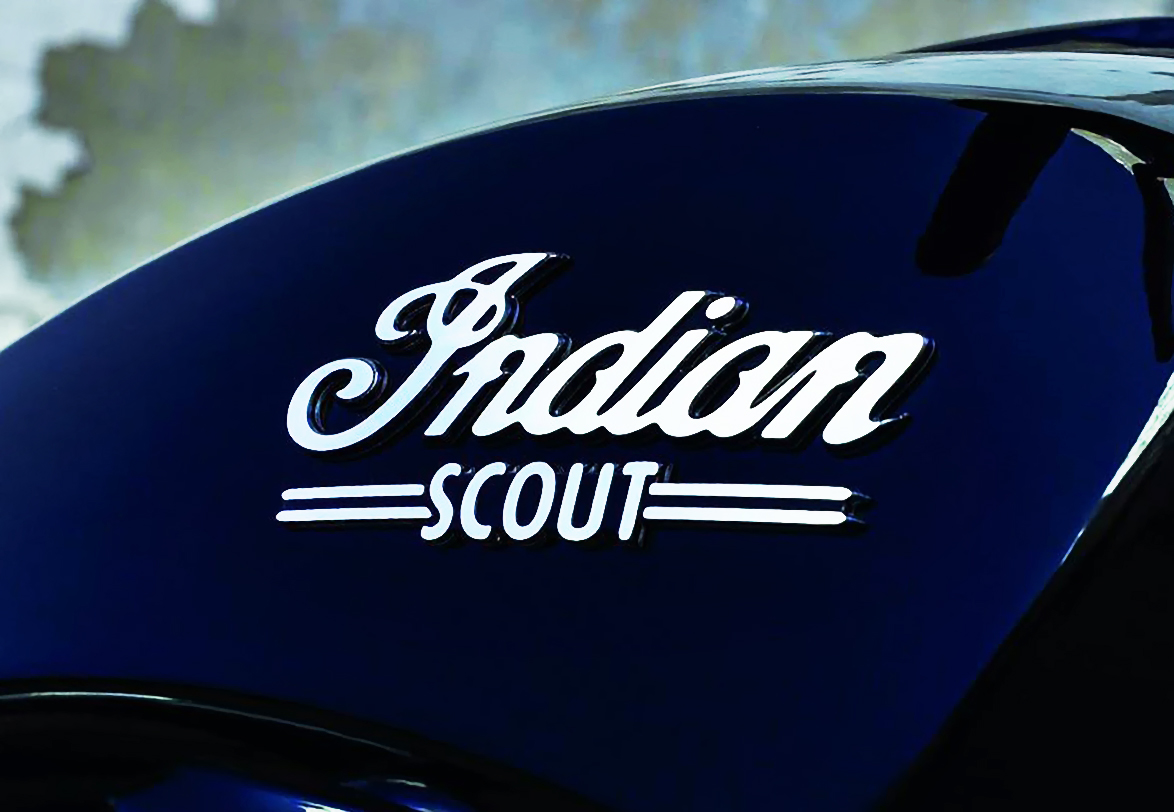 Motorcycle logo Indian